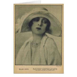 Carte Colombe 1926 de Billie