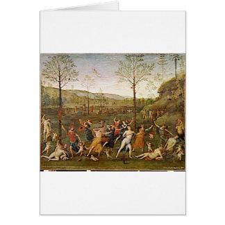 Carte Combat de l'amour et de la chasteté par Pietro