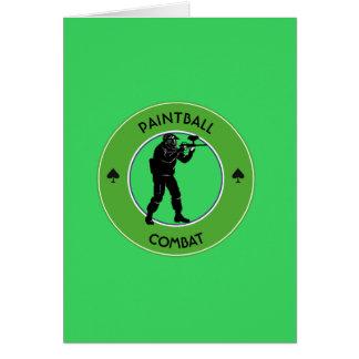 Carte Combat de Paintball