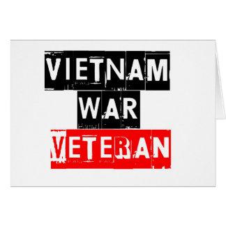 Carte combattant de Vietnam
