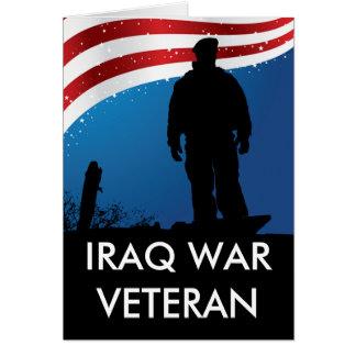 Carte Combattant d'Irak