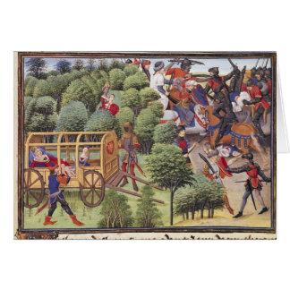 Carte Comment la duchesse d'Aigremont a donné naissance