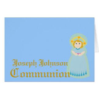 Carte Communion-Personnaliser