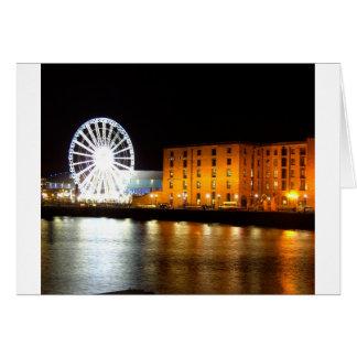 Carte Complexe de dock d'Albert, Liverpool R-U