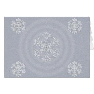 Carte Conception 2012 de flocon de neige de Joyeux Noël