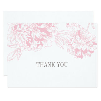 Carte Conception florale rose plate de pivoine des