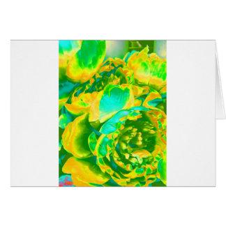 Carte Conceptions de floraison d'ampoule de fleurs