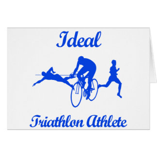 Carte Conceptions SPORTIVES de TRIATHLON