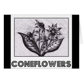 Carte Coneflowers