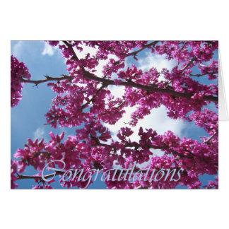 Carte Congrats de floraison