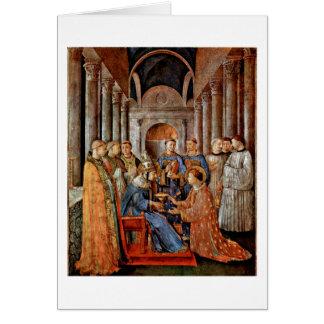 Carte Consécration de St.Lawrence par ATF Angelico
