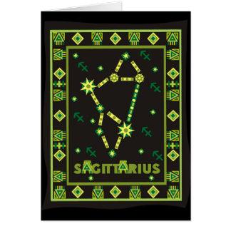 Carte Constellation de Sagittaire