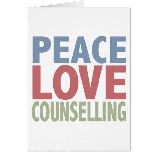 Carte Consultation d'amour de paix