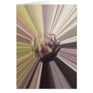 Carte Conte de fées dans la violette