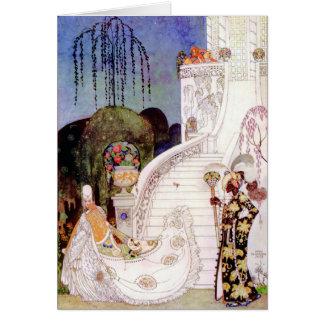 Carte Conte de fées de Cendrillon de Kay Nielsen