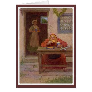 Carte Contes de Cantorbéry - le Pardoner