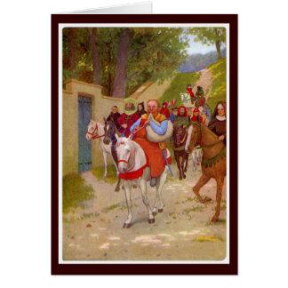 Carte Contes de Cantorbéry - Miller