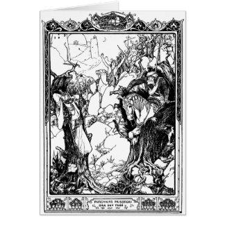 Carte Contes de fées indiens