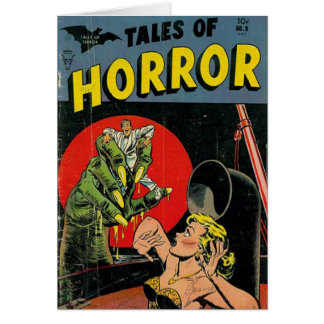 Carte Contes d'horreur comiques