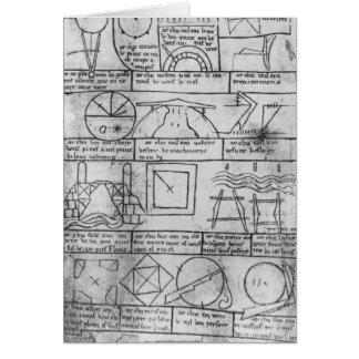 Carte Copie de télécopie des chiffres géométriques
