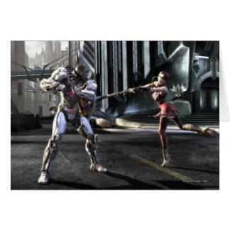 Carte Copie d'écran : Cyborg contre Harley