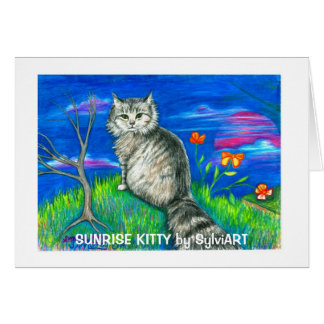 Carte Copyright ©1999 SylviART de KITTY de LEVER DE