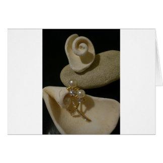 Carte Coquilles et perles