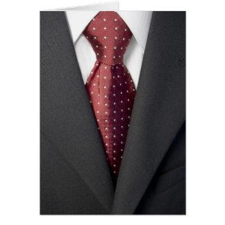 Carte Costume et cravate