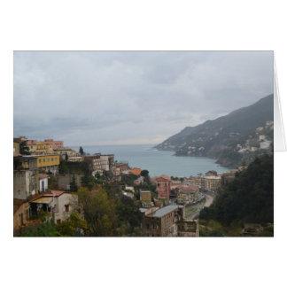 Carte Côte d'Amalfi