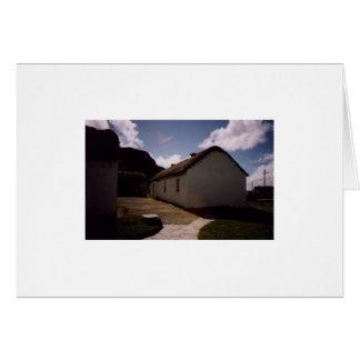 Carte cottage chez Glencollumkille, Co.Donegal