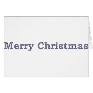 Carte Cottage d'hiver de Joyeux Noël