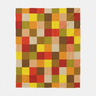 Carte couleur d'automne sur la couverture