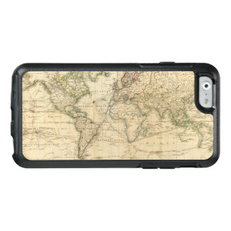 Carte couleur de main du monde coque OtterBox iPhone 6/6s