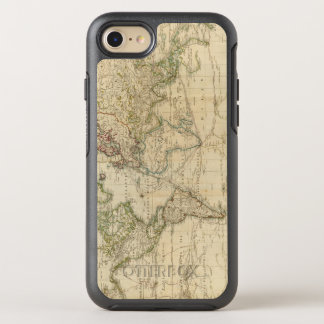 Carte couleur de main du monde coque otterbox symmetry pour iPhone 7