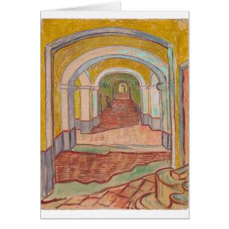 Carte Couloir dans l'hôpital Vincent van Gogh de St Paul