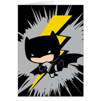Carte Coup-de-pied de foudre de Chibi Batman