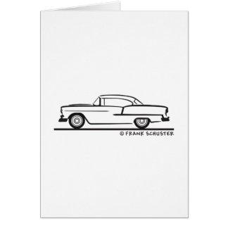 Carte Coupé 1955 de hard-top de Chevrolet