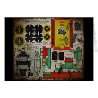 Carte Coupe-circuit 1873 de voiture de Marcus
