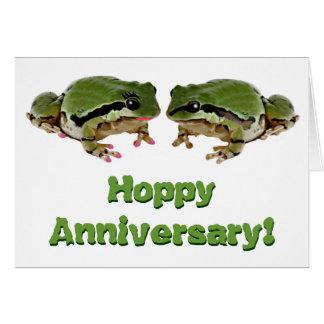 Carte Couples de grenouille