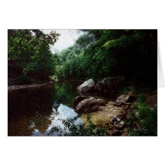 Carte Courbure en rivière de Baker, Rumney, NH