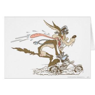 Carte Coureur de cycle d'E. Coyote de Wile