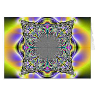 Carte coussin cosmique