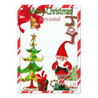 Carte COUTUME folklorique de Whimsey de Noël