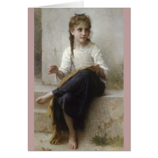 Carte Couture par William-Adolphe Bouguereau