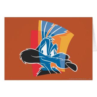 Carte Coyote 22 expressifs du Wile E