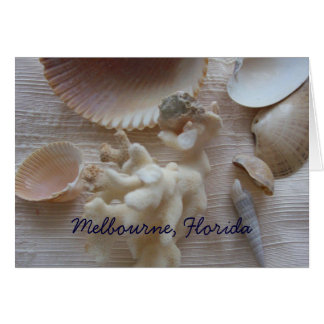 Carte Crabe de Melbourne, la Floride