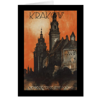 Carte Cracovie