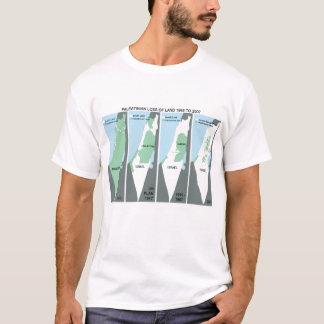 Carte craintive de la Palestine T-shirt