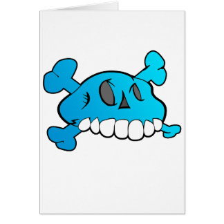 Carte Crâne comique