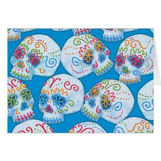 Carte Crânes mexicains de sucre